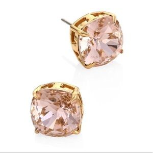 Tory Burch NWOT Crystal Pale Pink Stud Earrings